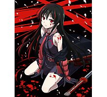 akame - Kill the Carnage Photographic Print