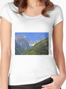 Dolomiti - Molveno - Italy Women's Fitted Scoop T-Shirt
