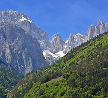 Dolomiti - Molveno - Italy by Arie Koene