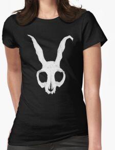 Frank Skull, Dark Alternate Detail Version Womens Fitted T-Shirt