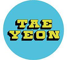 Girls' Generation Taeyeon Love & Peace Photographic Print