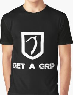 Inverted Get A Grip Axe Graphic T-Shirt