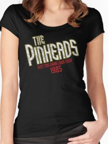 The Pinheads - Just Too Darn Loud Tour 1985 Women's Fitted Scoop T-Shirt