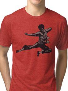 Kung Fu character series Tri-blend T-Shirt