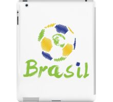 Brazilian soccer football iPad Case/Skin