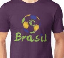 Brazilian soccer football Unisex T-Shirt