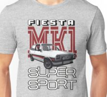 Ford Fiesta Super-Sport Classic Car T-shirts Unisex T-Shirt