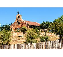 Stone Church New Mexico Photographic Print