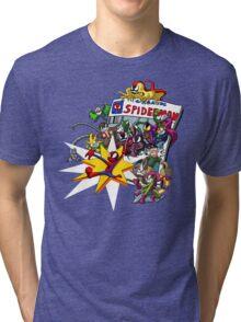 The Amazing Spiderman!! Tri-blend T-Shirt