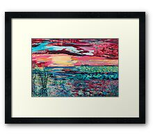 Rivers Flow Framed Print