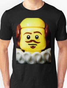 William Shakespeare in Lego form!! Unisex T-Shirt