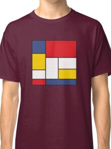 In the Style of Mondrian Classic T-Shirt