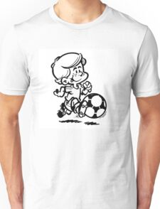 Soccer player cartoon Unisex T-Shirt