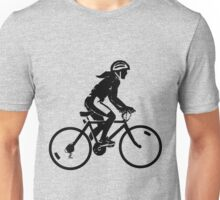 Sterne bike rider design Unisex T-Shirt