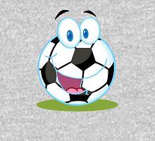 Cartoon soccer smiley ball Unisex T-Shirt