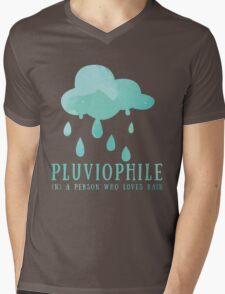 Pluviophile Mens V-Neck T-Shirt