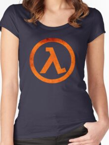 °GEEK° Half Life Women's Fitted Scoop T-Shirt