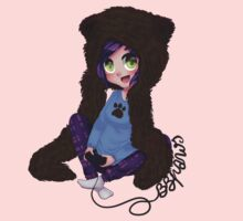 BrittanyBearPaws - Cord Writing One Piece - Long Sleeve