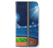 Stadium Background 2016 Summer Games iPhone Wallet/Case/Skin
