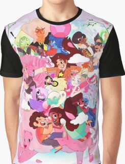 Steven Universe Family Graphic T-Shirt