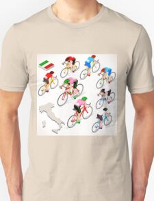 Cyclists Giro Italia Unisex T-Shirt