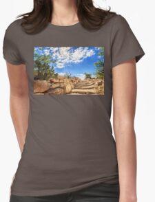 Desert High Light Womens Fitted T-Shirt