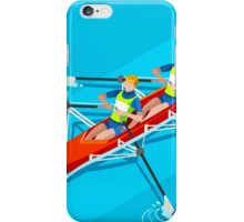 Canoe Rowing 2016 Summer Olympics iPhone Case/Skin