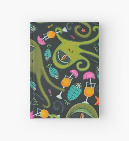 Sea Monster Party Hardcover Journal