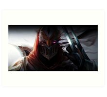 Zed - Shadow Art Print
