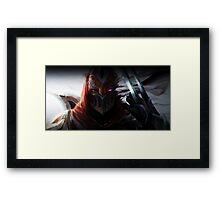 Zed - Shadow Framed Print