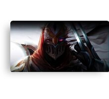 Zed - Shadow Canvas Print