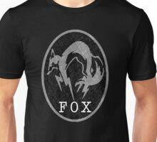 °METAL GEAR SOLID° Fox B&W Logo Unisex T-Shirt