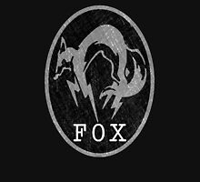 °METAL GEAR SOLID° Fox B&W Logo Unisex T-Shirt