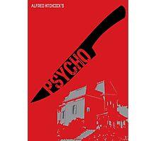 Psycho Movie Poster Photographic Print