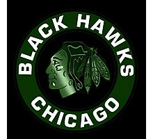 Chicago Black Hawks 0002 Photographic Print