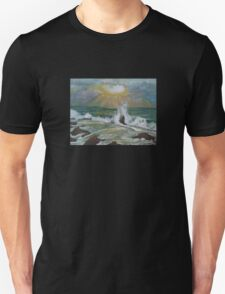 Sea waves Unisex T-Shirt