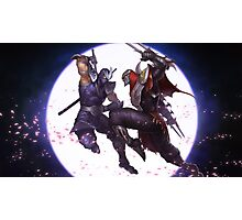 Zed & Shen Photographic Print