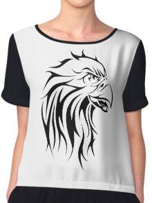 Eagle tattoo design Chiffon Top