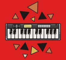 Music keyboard Baby Tee