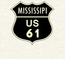 Mississippi US 61 Sign Hoodie
