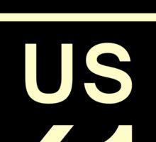 Mississippi US 61 Sign Sticker