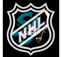 San Jose Shark  Photographic Print