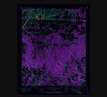 USGS TOPO Map Alabama AL Spruce Pine 305093 1945 24000 Inverted Unisex T-Shirt