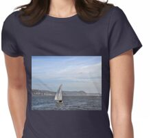 Into The Blue..........Lyme Dorset UK Womens Fitted T-Shirt