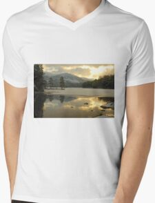 Icy Loch Mens V-Neck T-Shirt