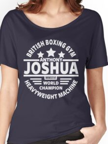 Anthony Joshua Boxing Gym Women's Relaxed Fit T-Shirt