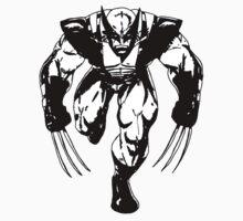 Wolverine Fan Art Baby Tee