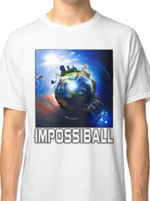 Flat Earth Impossiball Classic T-Shirt
