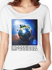 Flat Earth Impossiball Women's Relaxed Fit T-Shirt