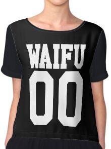 WAIFU 00 JERSEY Chiffon Top